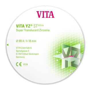 VITA YZ STWhite, 18 mm