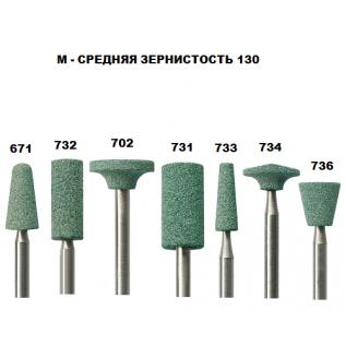 Абразив из зеленого карбида кремния (Средняя зернистость)